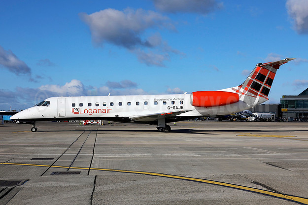 First Embraer in the new livery