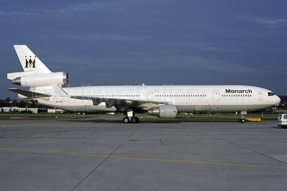 Monarch Airlines (World Airways) McDonnell Douglas MD-11 N273WA (msn 48519) ZRH (Rolf Wallner). Image: 912775.