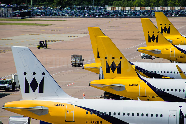 Monarch Airlines tails MAN (Rob Skinkis). Image: 939671.