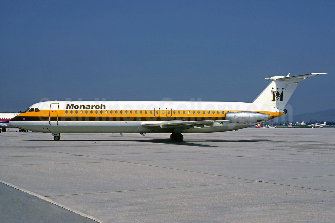 Monarch Airlines BAC 1-11 518FG G-AXMG (msn 201) SZG (Christian Volpati Collection). Image: 912414.