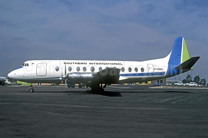 Southern International Vickers Viscount 807 G-CSZA (msn 282) BVA (Christian Volpati). Image: 953584.
