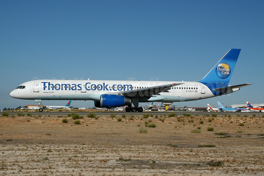 Thomas Cook Airlines (UK) (Thomas Cook.com) Boeing 757-204 G-FCLF (msn 28835) FAO (Ton Jochems). Image: 953468.