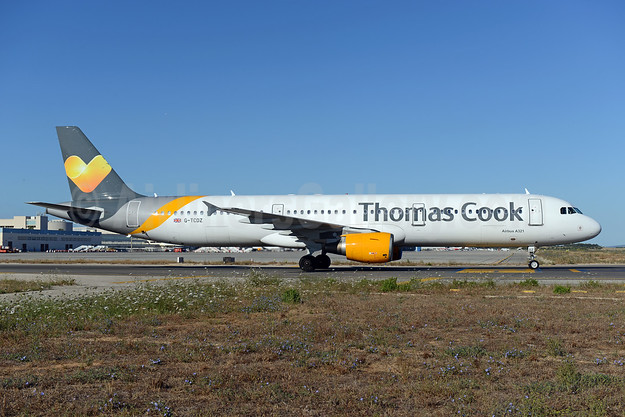 Thomas Cook Airlines (UK) Airbus A321-211 G-TCDZ (msn 1006) PMI (Ton Jochems). Image: 946379.