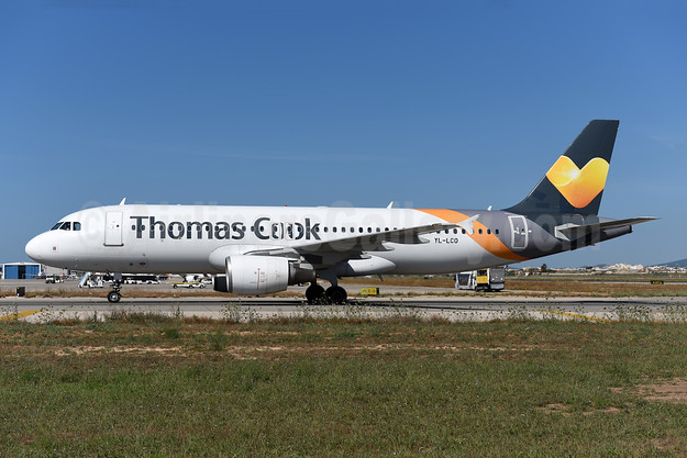 Thomas Cook Airlines (UK) (SmartLynx Airlines Latvia) Airbus A320-214 LY-LCO (msn 1873) PMI (Ton Jochems). Image: 945605.