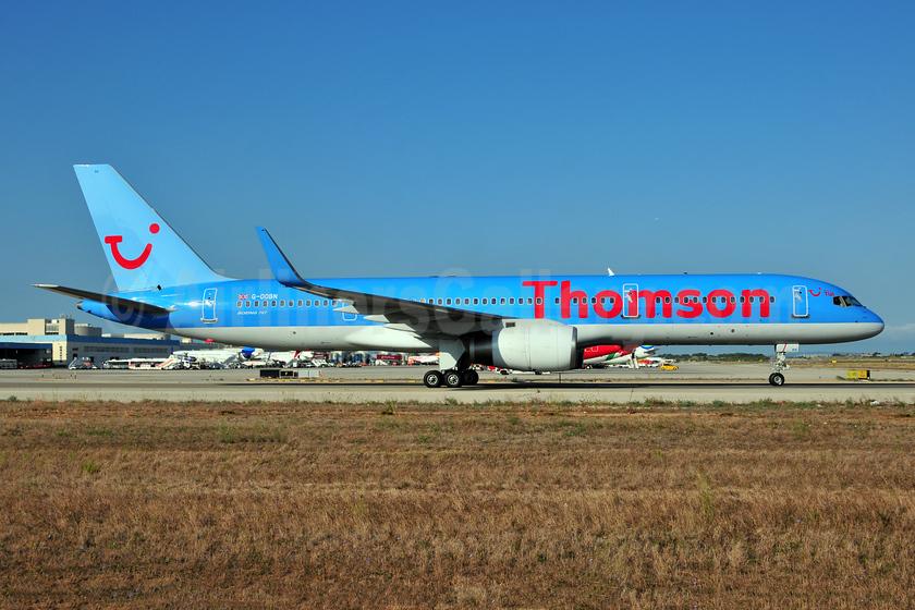 Thomson Airways Boeing 757-2G5 WL G-OOBN (msn 29379) PMI (Ton Jochems). Image: 952868.