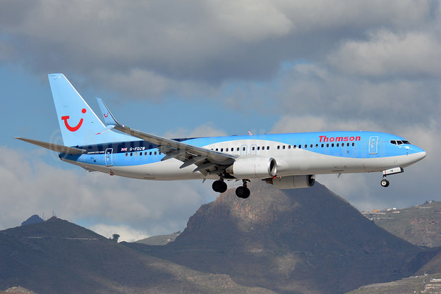 Thomson Airways Boeing 737-8K5 SSWL G-FDZW (msn 37254) TFS (Paul Bannwarth). Image: 927490.