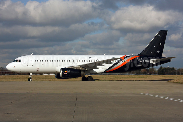 Titan Airways Airbus A320-232 G-POWM (msn 2564) LHR. Image: 936979.