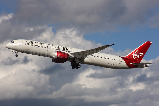 "Virgin Atlantic Airways Boeing 787-9 Dreamliner G-VNEW (msn 40956) ""Birthday Girl""  LHR (SPA). Image: 941875."