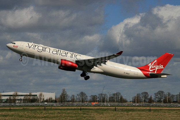 Virgin Atlantic Airways Airbus A330-343 G-VRAY (msn 1296) LHR (SPA). Image: 945652.