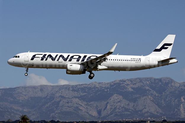 Finnair Airbus A321-231 WL OH-LZL (msn 6083) (Sharklets) PMI (Javier Rodriguez). Image: 922730.