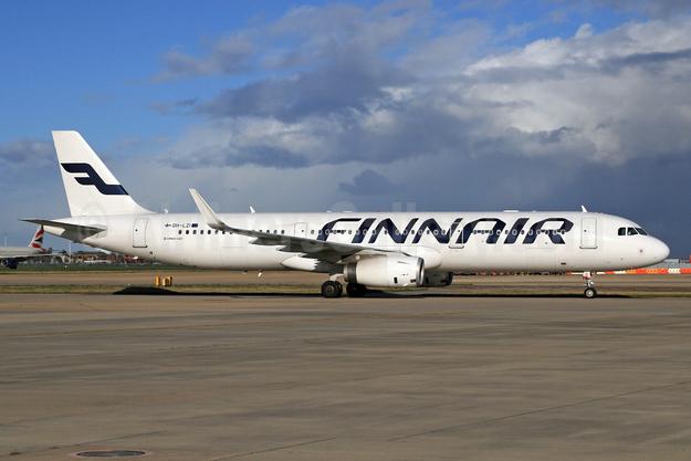 Finnair Airbus A321-231 WL OH-LZI (msn 5922) (Sharklets) LHR. Image: 927076.