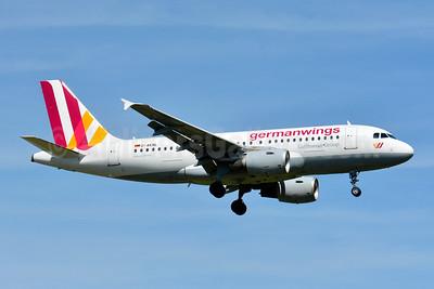 Germanwings (2nd) Airbus A319-112 D-AKNL (msn 1084) ZRH (Paul Bannwarth). Image: 929110.
