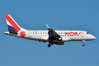 Hop! For Air France Embraer ERJ 170-100LR F-HBXP (msn 17000036) BSL (Paul Bannwarth). Image: 939116.