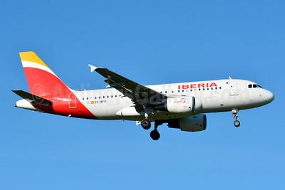 Iberia Airbus A319-111 EC-MFO (msn 938) ZRH (Paul Bannwarth). Image: 929111.