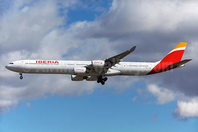 Iberia Airbus A340-642 EC-IQR (msn 460) MAD (Greenwing). Image: 929124.