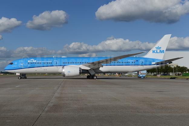 "KLM's 9th 787 is named ""Jasmijn"" (Jasmine), delivered on August 26, 2016"