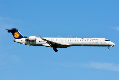 Lufthansa Regional-CityLine Bombardier CRJ900 (CL-600-2D24) D-ACKC (msn 15078) BSL (Paul Bannwarth). Image: 929118.