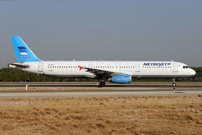 MetroJet (Russia) Airbus A321-231 EI-ETJ (msn 663) AYT (Ton Jochems). Image: 929559.