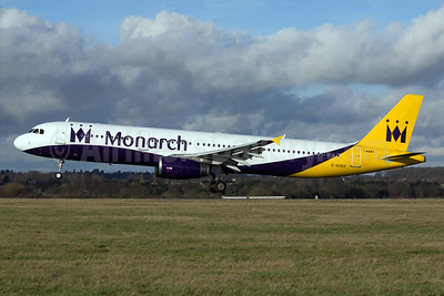 Monarch Airlines Airbus A321-231 G-OZBZ (msn 1421) LTN (Paul Ferry). Image: 928556.