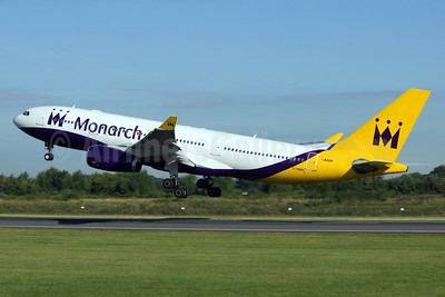Monarch Airlines Airbus A330-243 G-SMAN (msn 261) MAN (Paul Ferry). Image: 928557.