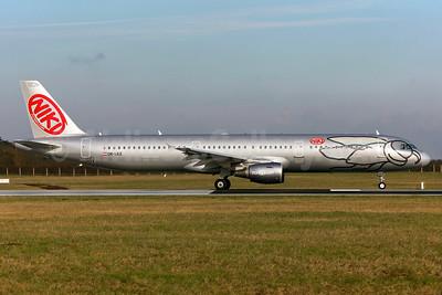 Niki Luftfahrt (flyNiki.com) Airbus A321-211 OE-LEZ (msn 4648) DUB (Greenwing). Image: 929138.