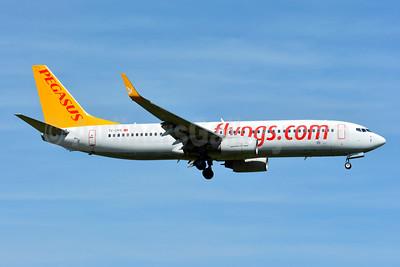 Pegasus Airlines (flypgs.com) Boeing 737-8GJ WL TC-CPS (msn 37366) ZRH (Paul Bannwarth). Image: 929097.