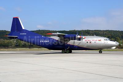Ruby Star Airways Antonov An-12BP EW-338TI (msn 1340106) ZRH (Rolf Wallner). Image: 929638.