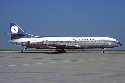 SABENA-Belgian World Airlines Sud Aviation SE.210 Caravelle 6N OO-SRF (msn 76) ORY (Christian Volpati). Image: 932735.