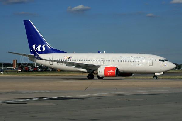 SAS - Scandinavian Airlines - Bergen Norway
