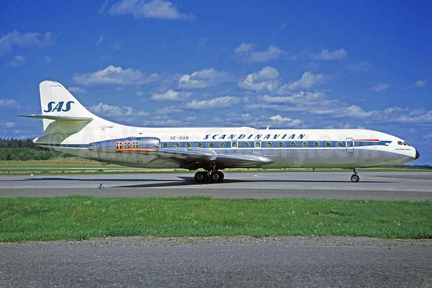 Scandinavian Airlines System-SAS Sud Aviation SE.210 Caravelle 3 SE-DAB (msn 11) (Christian Volpati Collection). Image: 931341.