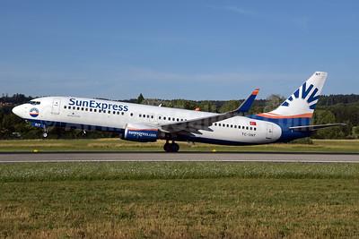 SunExpress Airlines Boeing 737-8HC WL TC-SNT (msn 40755) ZRH (Rolf Wallner). Image: 928507.