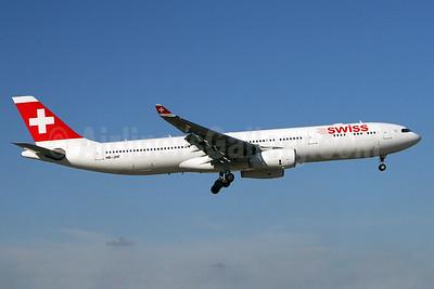 Swiss International Air Lines Airbus A330-343 HB-JHF (msn 1089) MIA (Brian McDonough). Image: 929554.