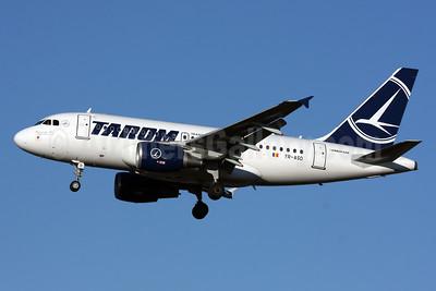 TAROM-Transporturile Aeriene Romane (Romanian Air Transport) Airbus A318-111 YR-ASD (msn 3225) LHR (SPA). Image: 929662.