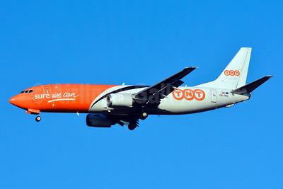 TNT Airways Boeing 737-4M0 (F) OE-IAQ (msn 29207) BSL (Paul Bannwarth). Image: 929504.