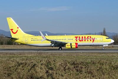 TUIfly (TUIfly.com) Boeing 737-8K5 SSWL D-ATUJ (msn 39923) BSL (Paul Bannwarth). Image: 929119.