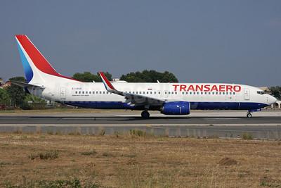 Transaero Airlines Boeing 737-8MC WL EI-RUR (msn 44435) CFU (Antony J. Best). Image: 928721.