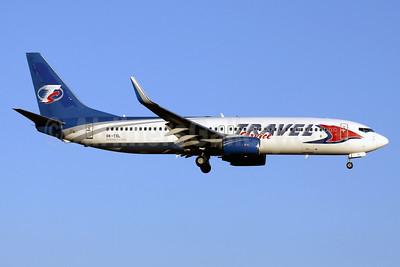 Travel Service Airlines (Czech Republic) Boeing 737-8AS WL OK-TSL (msn 29923) (CanJet colors) PMI (Javier Rodriguez). Image: 928598.