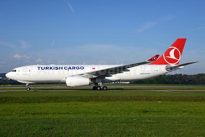 Turkish Cargo (Turkish Airlines) Airbus A330-243F TC-JOU (msn 1550) ZRH (Rolf Wallner). Image: 929004.