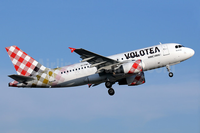 Second Airbus A319 for Volotea, ex Air Malta 9H-AEH