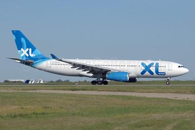 XL Airways France (XL.com) Airbus A330-243 F-GRSQ (msn 501) YYC (Chris Sands). Image: 929054.