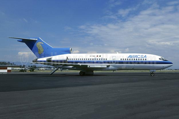 AVIACSA Boeing 727-31 XA-RWG (msn 18572) MEX (Christian Volpati). Image: 954907.