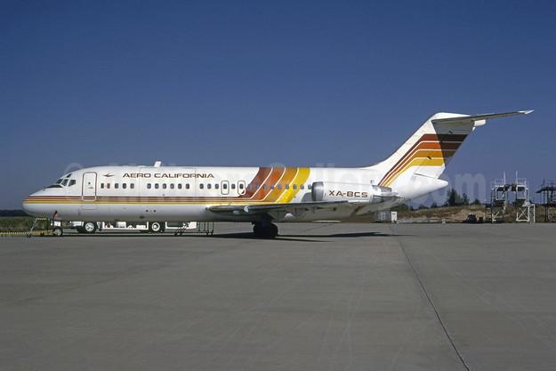 Aero California McDonnell Douglas DC-9-14 XA-BCS (msn 47043) ATL (Norbert G. Raith). Image: 954689.