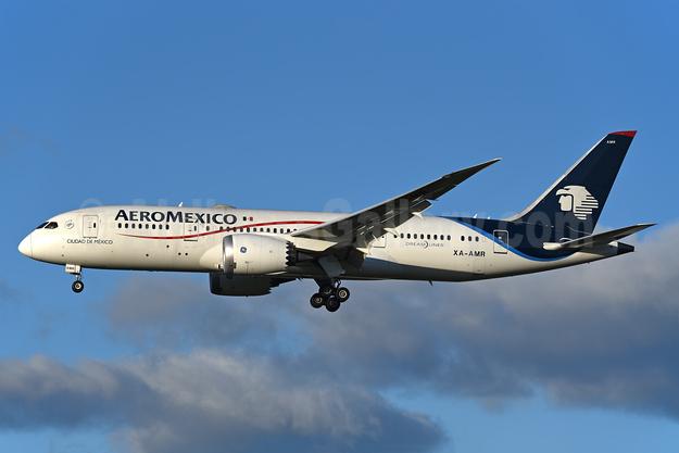 AeroMexico Boeing 787-8 Dreamliner XA-AMR (msn 36844) LHR (Rolf Wallner). Image: 941805.
