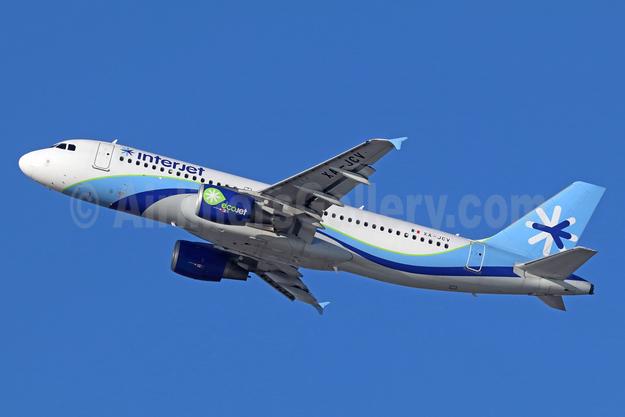 Interjet Airbus A320-214 XA-JCV (msn 3514) (EcoJet) LAX (Michael B. Ing). Image: 936225.