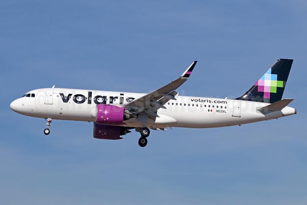Volaris Airbus A320-271N WL N530VL (msn 7626) LAX (Michael B. Ing). Image: 940138.