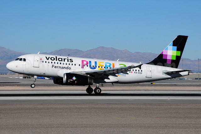 Volaris Airbus A319-133 XA-VOP (msn 4403) (Fernando-Puebla) LAS (Ton Jochems). Image: 910510.