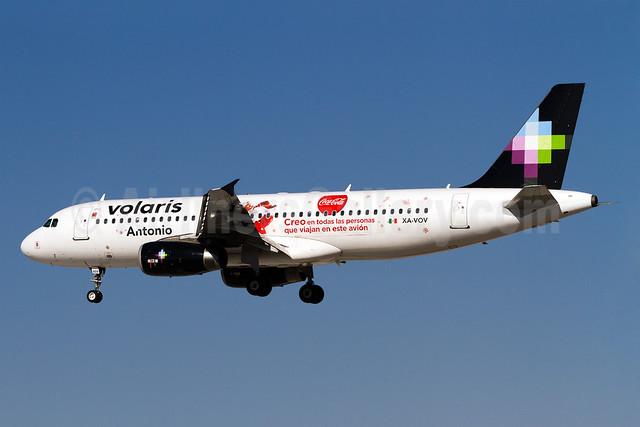 Volaris Airbus A320-232 XA-VOV (msn 3524) (Coca Cola Christmas) LAS (Arnd Wolf). Image: 922042.