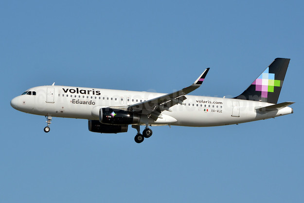 Volaris Airbus A320-233 WL XA-VLE (msn 6288) (Eduardo) LAX (Jay Selman). Image: 403441.