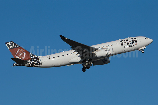 Fiji Airways (2nd) Airbus A330-243 F-WWKD (DQ-FJT) (msn 1394) TLS (Olivier Gregoire). Image: 911119.