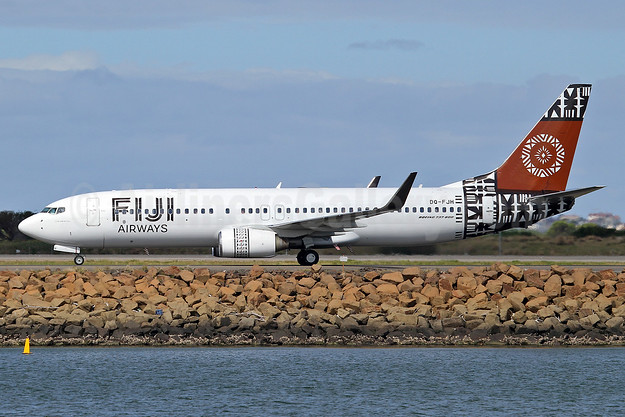 Fiji Airways (2nd) Boeing 737-8X2 WL DQ-FJH (msn 29969) SYD (Keith Burton). Image: 926459.